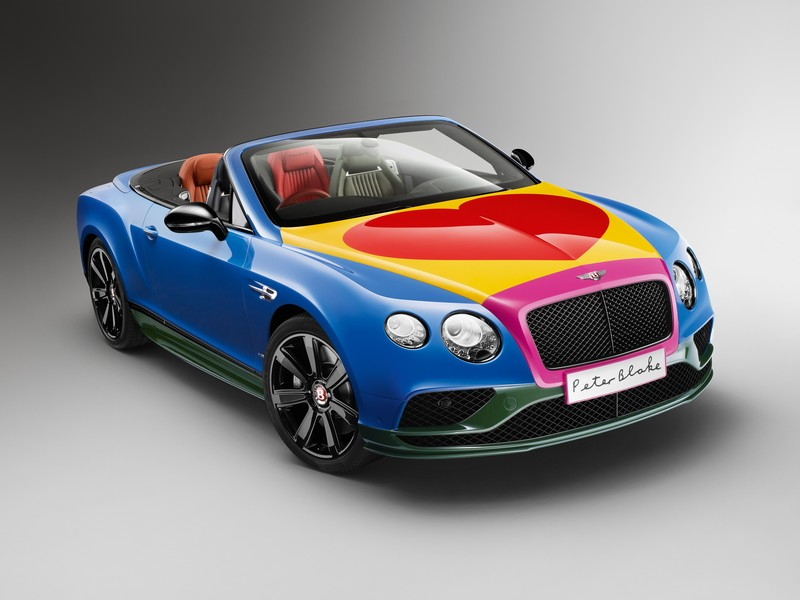 Bentley - Peter Blake Pop Art Bentley set to raise thousands for Charity