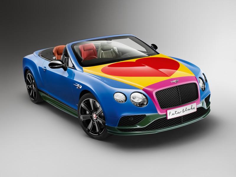 Bentley - Peter Blake Pop Art Bentley set to raise thousands for Charity