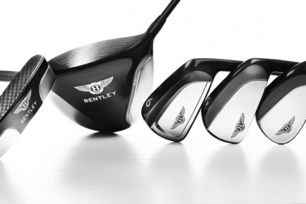The first golf hardware collaboration for Bentley Motors