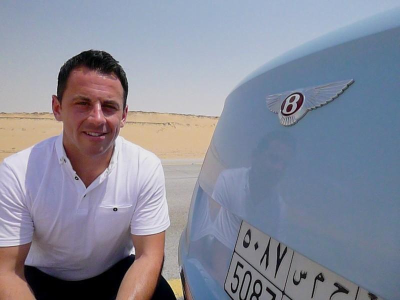 Bentley's Desert Train race (4)