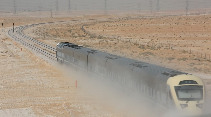 Bentley's Desert Train race (8)