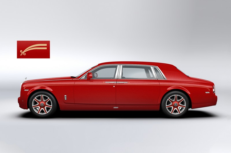 Bespoke Rolls-Royce Phantoms for The 13 Hotel- lateral
