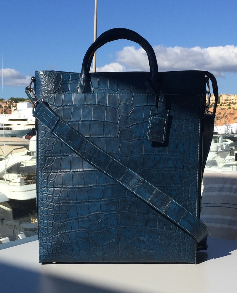 Bianca Mosca accessories made from ethically sourced exotic leathers