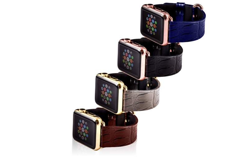 Bianca Mosca -hand-crafted watch bands to fit Apple Watch