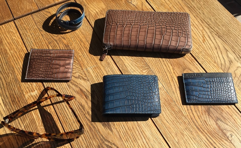 Bianca Mosca luxury wallets made from ethically sourced exotic leathers