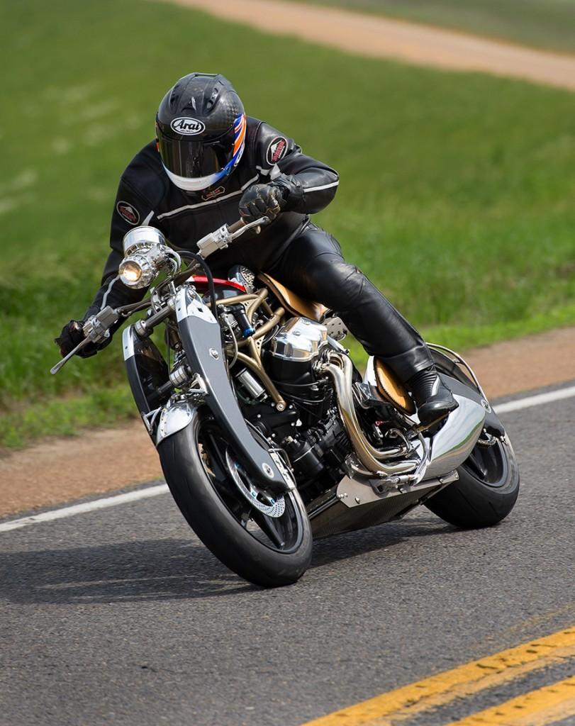 Bienville Legacy Motorcycle 2015 debuts at FOS 2015