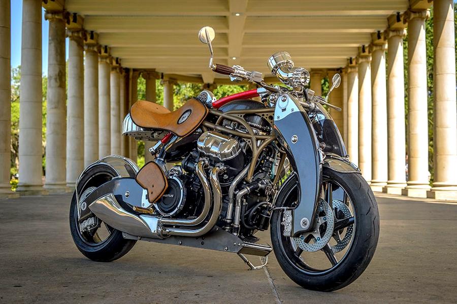 Bienville Legacy Motorcycle 2015