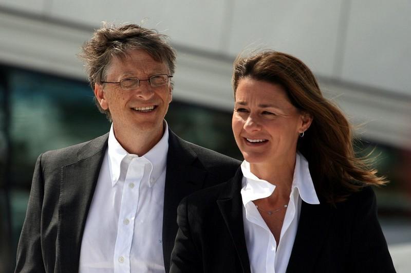 Bill and Melinda Gates-