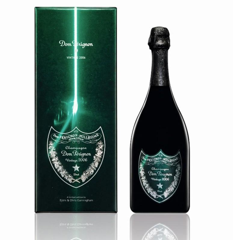 Björk and Chris Cunningham for laser-like Dom Pérignon 2006 Vintage-