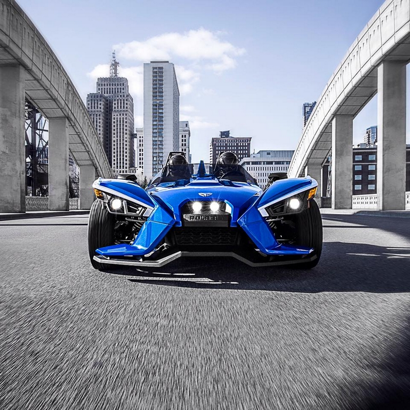 Blue Fire SL Limited Edition -- the most exclusive vehicle to Polaris Slingshot lineup 2luxury2 com-