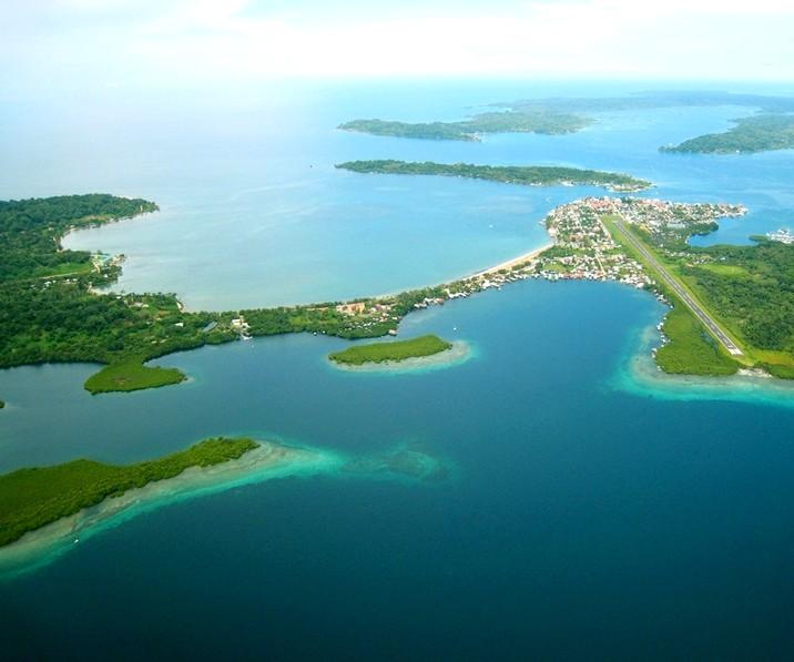 Bocas del Toro, Panama-aerial