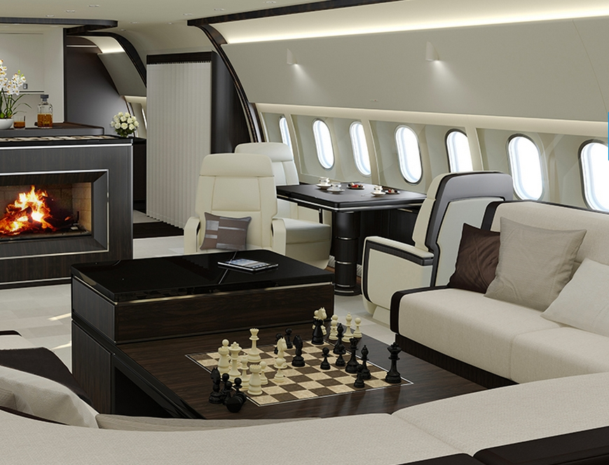 Boeing Business Jets - interior 3