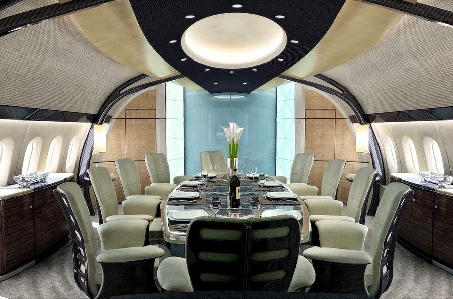 Boeing Business Jets - interior