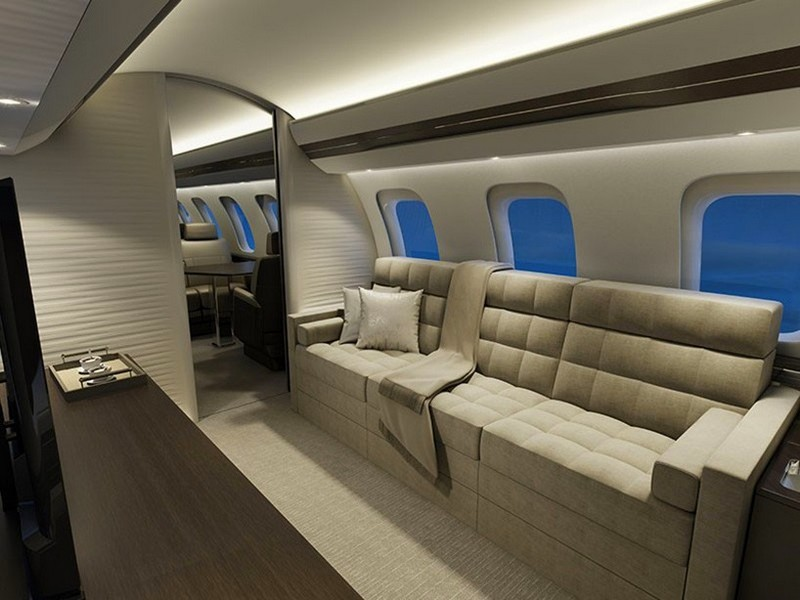 Bombardier Global 7000 Luxury Jet-configuration