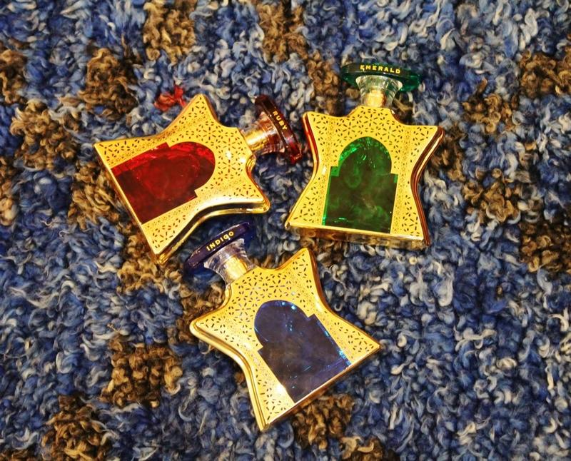 Bond No. 9 Dubai Emerald, Ruby and Indigo-perfumes - flying carpet-