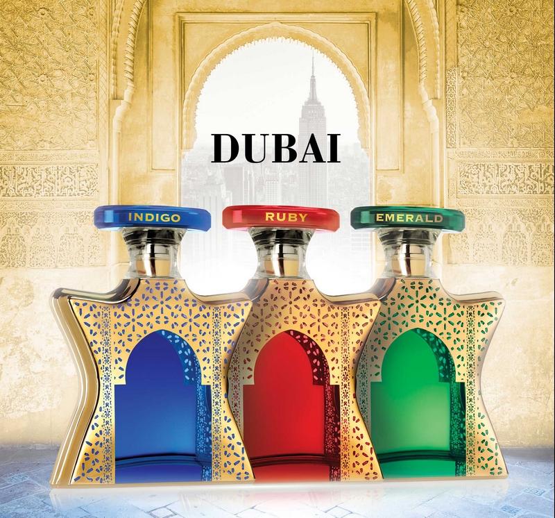 Bond No9 Dubai - a collection of New York-inspired Mideast eaux de parfum