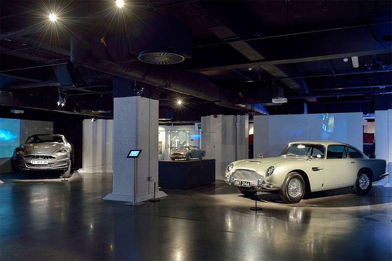 Bond in Motion London Film Museum - The largest official collection of Original James Bond Vehicles