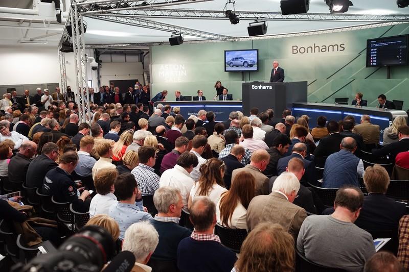 Bonhams Aston Martin auction-
