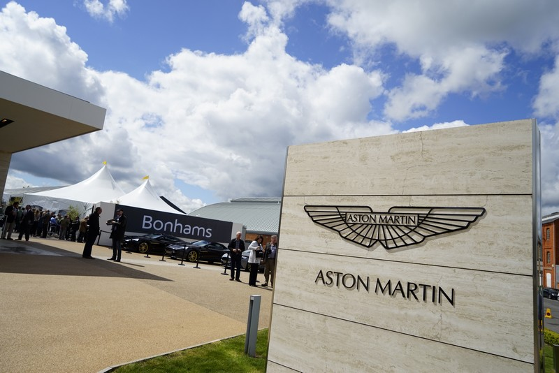Bonhams Aston Martin auction