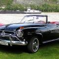 Borgward Isabella Cabrio Black