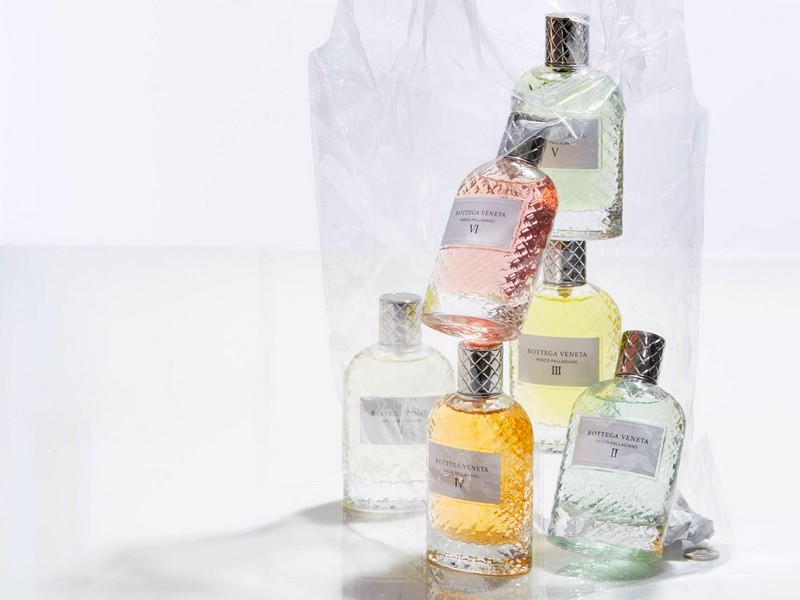 Bottega Veneta Parco Palladiano Collection 2016 - six perfumes
