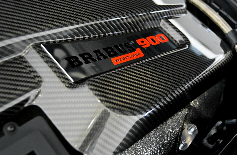Brabus Mercedes-Maybach S600-engine-
