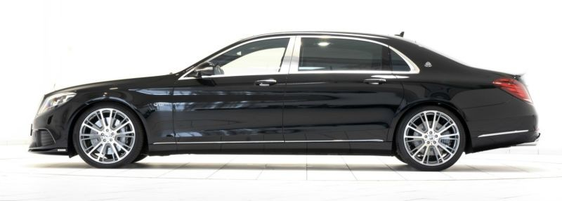 Brabus Mercedes-Maybach S600 limousine-supercar