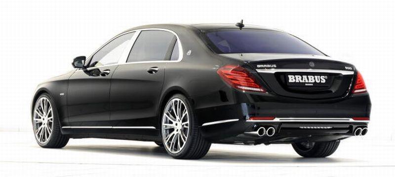 Brabus Mercedes-Maybach S600-rear