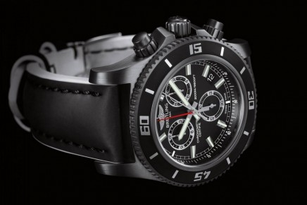 Breitling's dark (k)night of the oceans