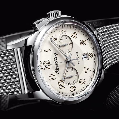 Breitling Transocean Chronograph 1915 -watch