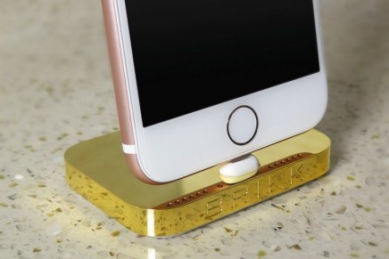 The Lux iPhone Dock. This might be the best luxury gift of 2016, says brikk