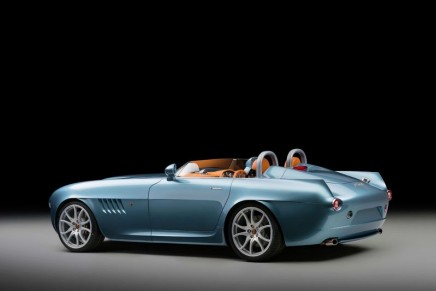Bristol Cars unveiled its first new model since resurrection