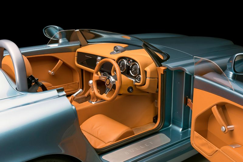 Bristol Cars has unveiled its first new model since resurrection - Bristol Bullet-