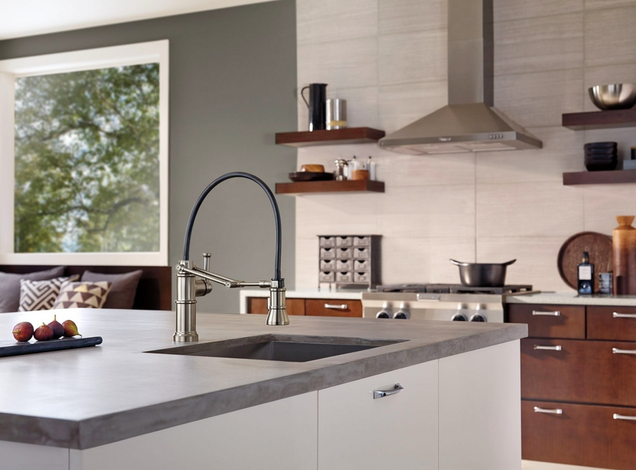 Brizo Artesso Kitchen Collection - recognized with a coveted Red Dot Award 2015