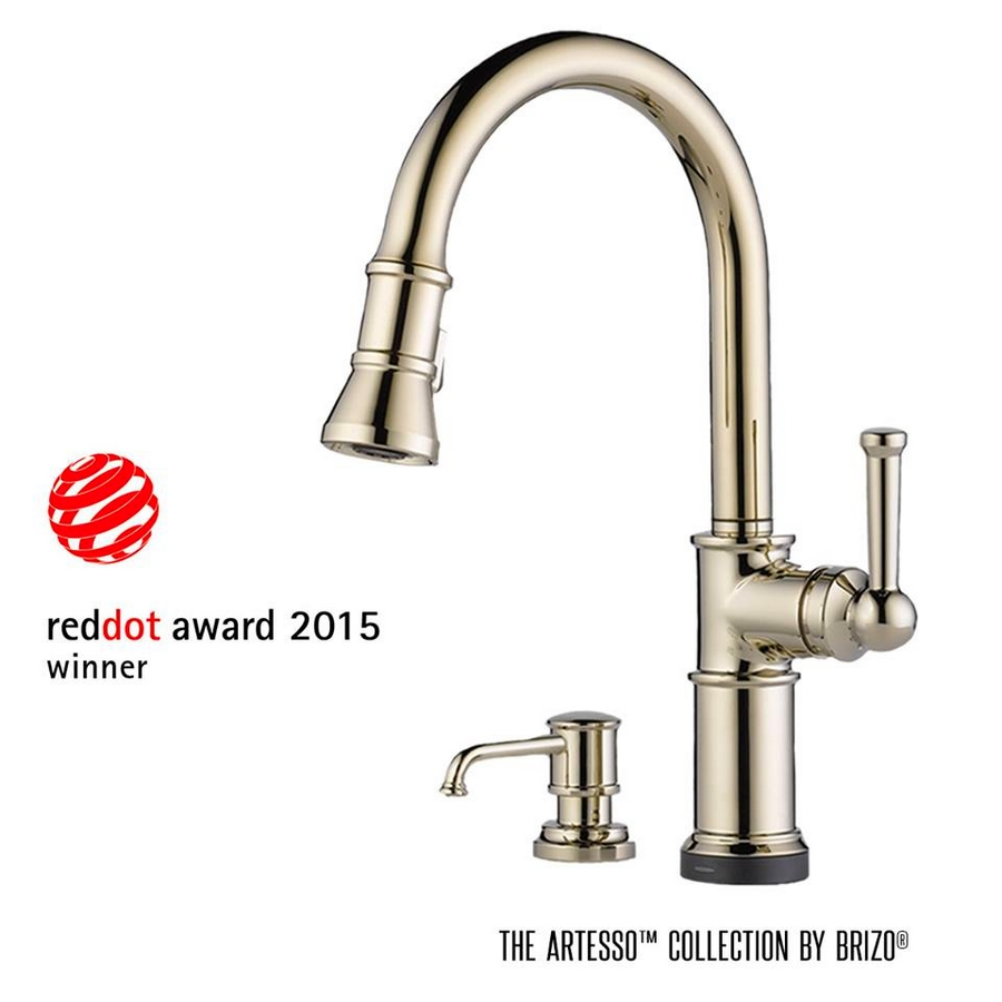 Kitchen Faucet With Red Dot