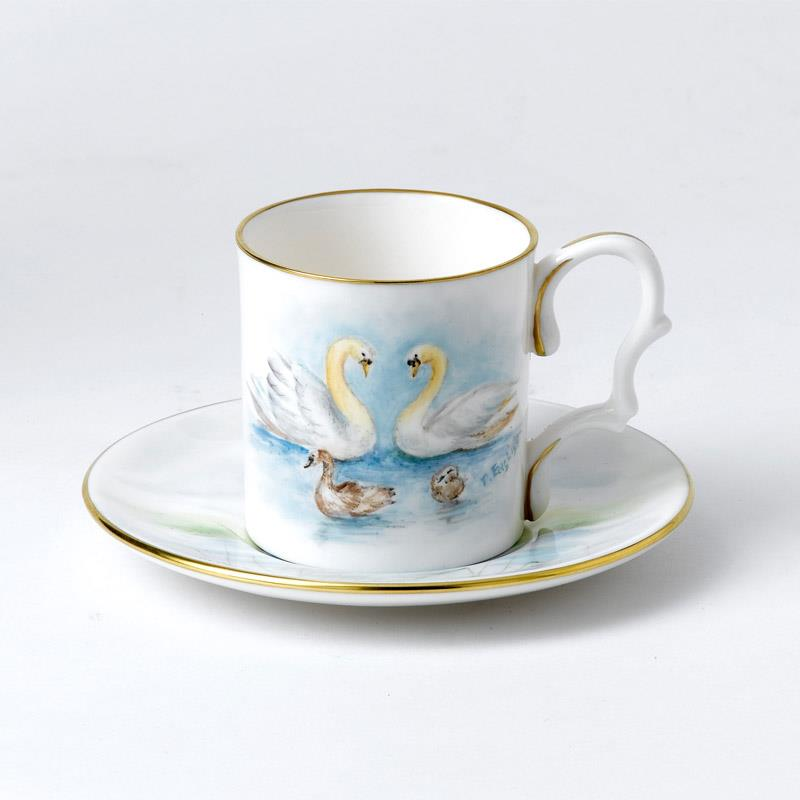 Bronte Porcelain Royal Baby Collection 2015 -espresso cup and saucer