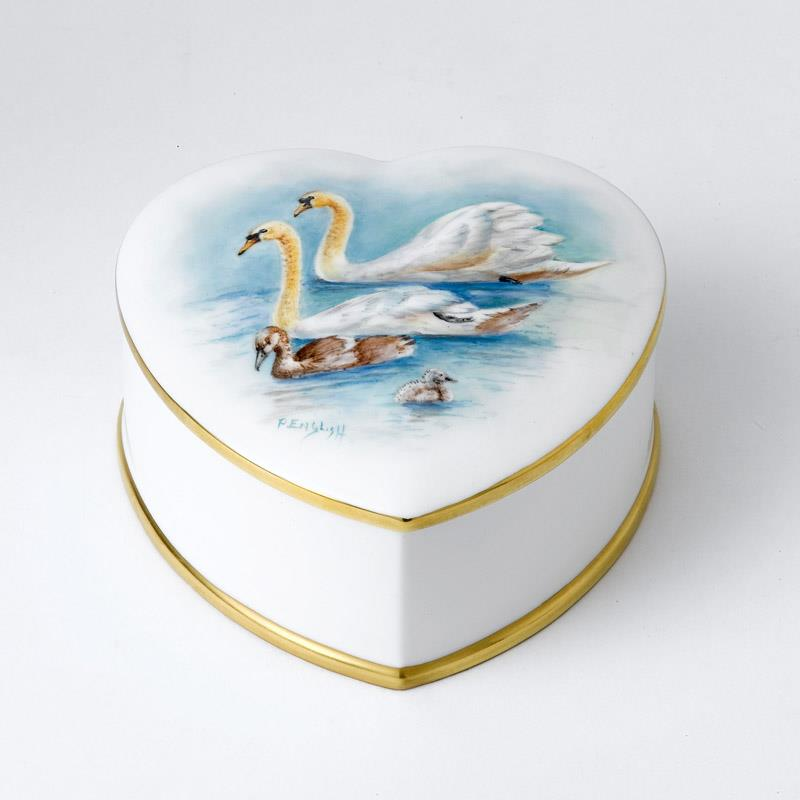 Bronte Porcelain Royal Baby Collection 2015 -trinket box