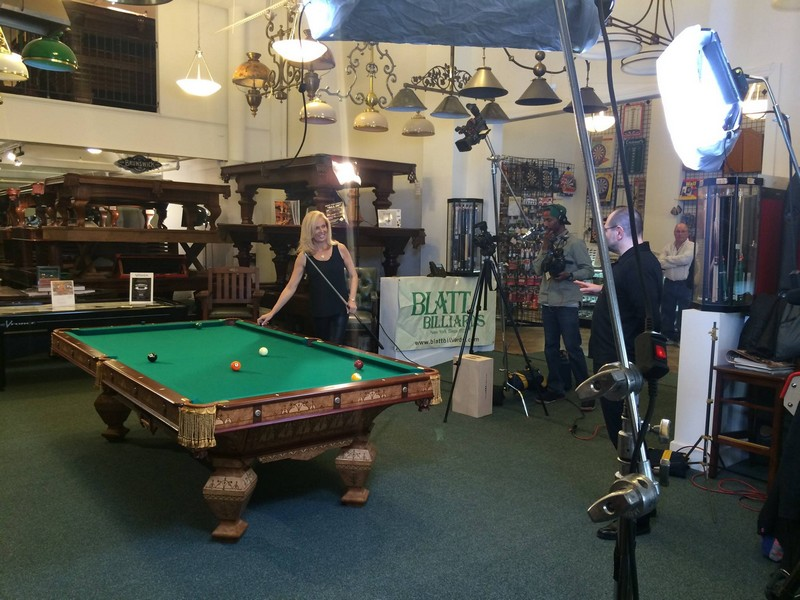 Brunswick Billiards Tables-
