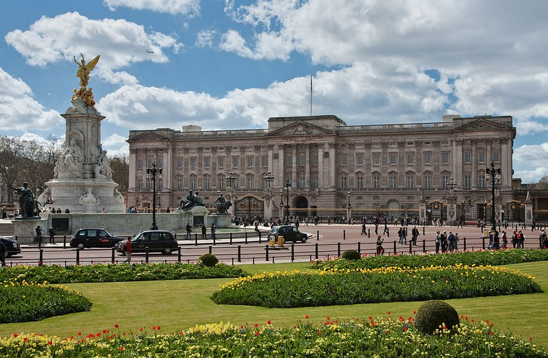 Buckingham Palace London, England ext
