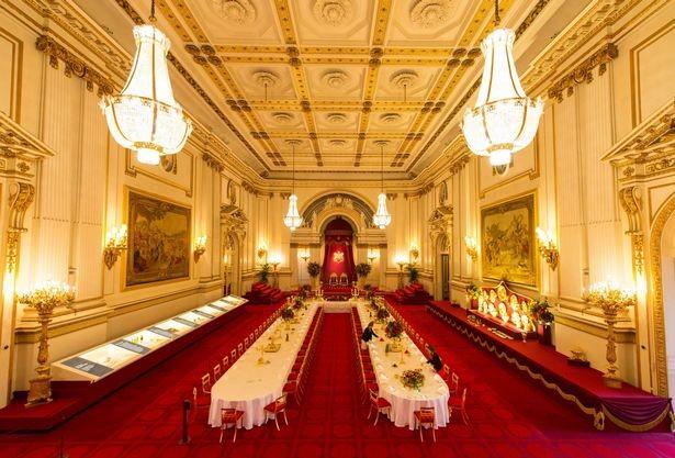 Buckingham Palace London, England int