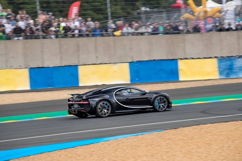 Bugatti Chiron celebrates its debut in France at the 24 Hours of Le Mans 2016-Reaching a speed of 380kmh