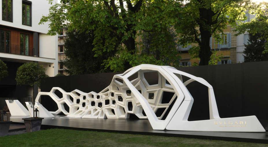 Bulgari Hotel Milano - Zaha Hadid - Salone del Mobile 2015
