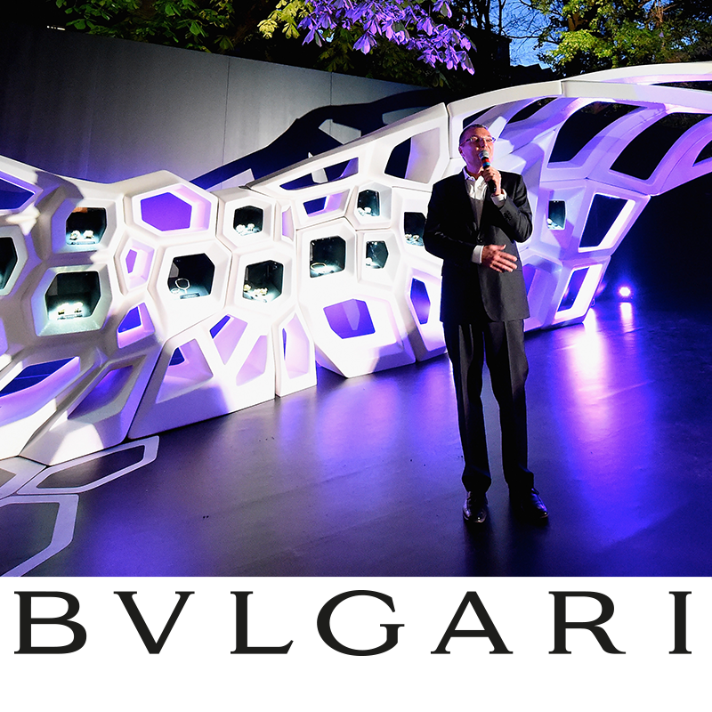 Bulgari and Zaha Hadid celebrates the unveiling of a Serpenti installation – Jean Christophe Babin
