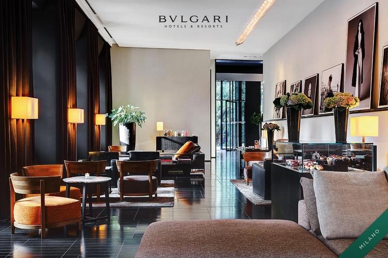 Bulgarti Hotels Milano - The Lobby4