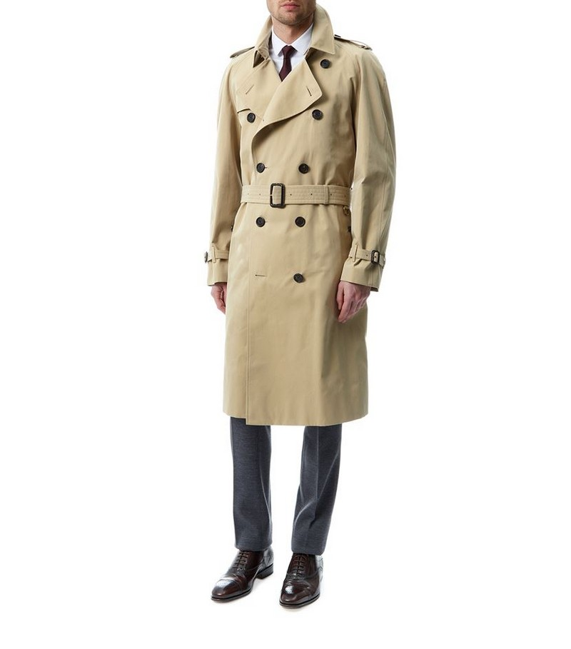 Burberry_Harrods Man Cover to Cover-The Westminster Long Heritage Trench Coat