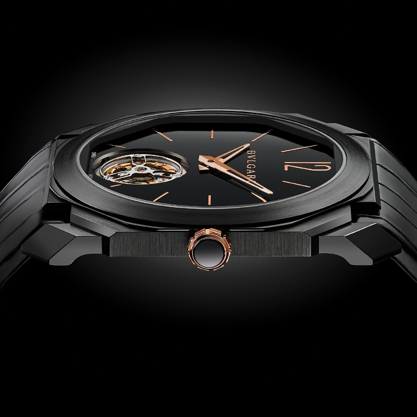Bvlgari Octo Ultranero Finissimo Tourbillon watch