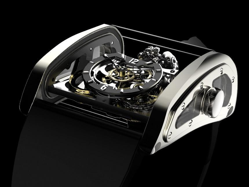 CABESTAN Triple Axis Tourbillon watch-