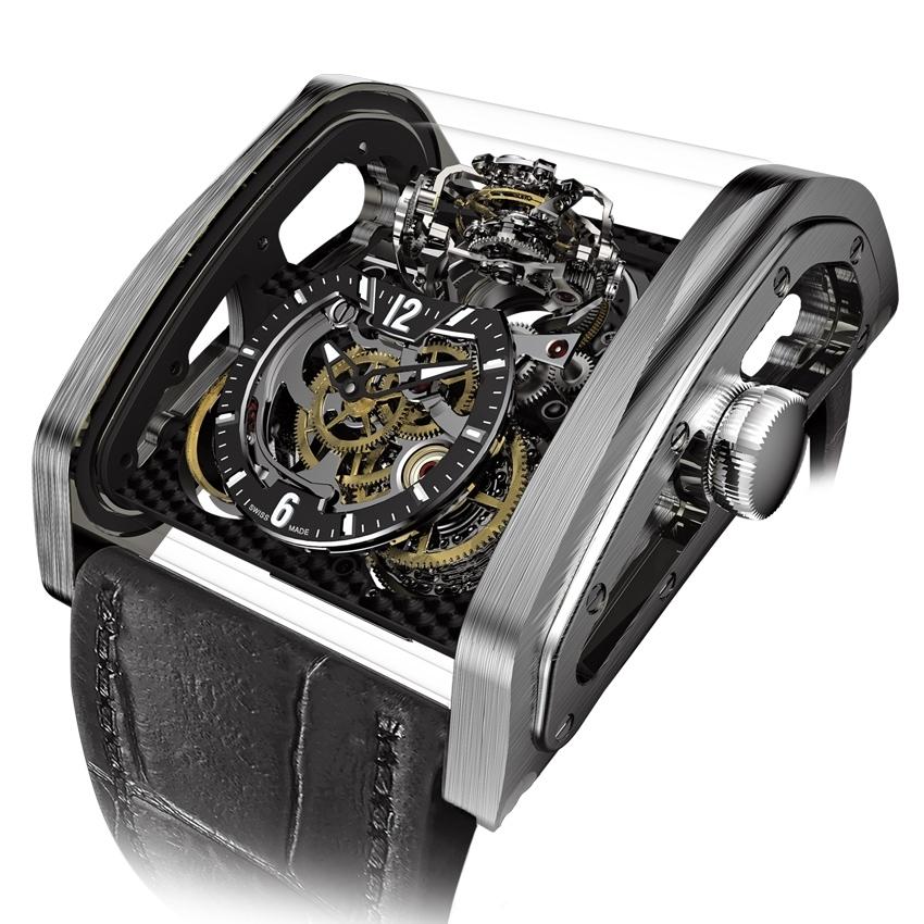 CABESTAN Triple Axis Tourbillon watch