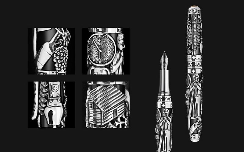 CARAN D'ACHE Spirit of Switzerland pen collection-details