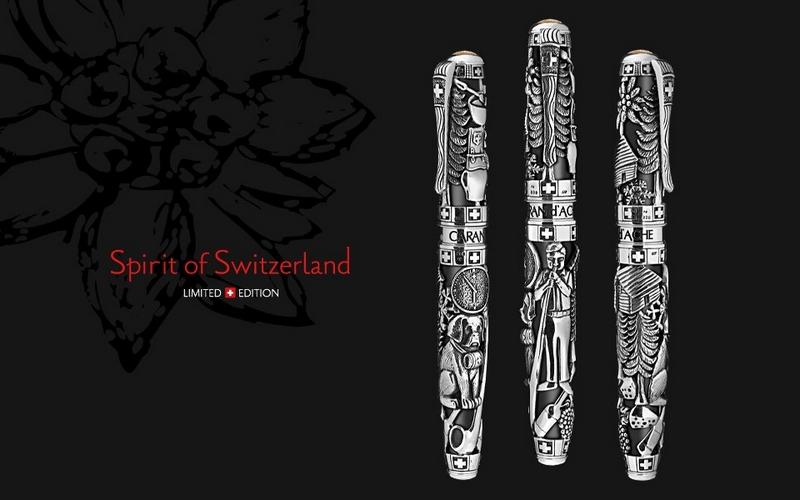 CARAN D'ACHE Spirit of Switzerland pen collection